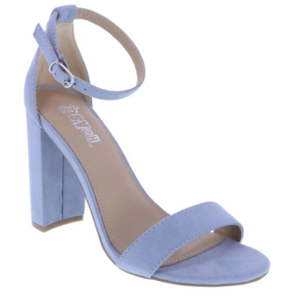 Brash Shoes | Brash Suede Block Heels